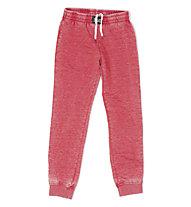 Everlast Pant Authentic Burn-Out pantaloni ginnastica donna, Dark Red
