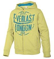 Everlast Felpa zip bambino, Light Yellow