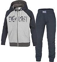 Everlast Tuta con cappuccio Kinder Trainingsanzug, Blue/Grey