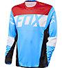 Fox Maglia bici downhill Flexair DH LS Jersey, Cyan