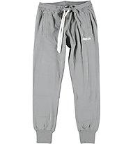 Freddy Brushed Stretch Fleece pantaloni donna, Light Grey