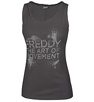 Freddy Pure Dance Active Top donna, Black
