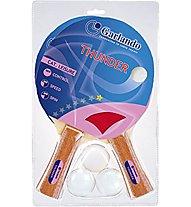 Garlando Set racchette ping pong Thunder, Blue