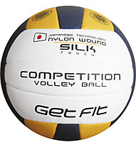 Get Fit Competition Volley Ball, White/Dark Blue/Yellow