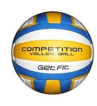 Get Fit Competition Volley Ball, White/Yellow/Blue