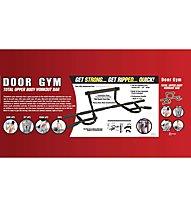 Get Fit Door Gym - Tür Reck Multi, Black