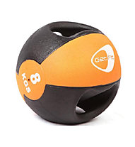 Get Fit Medizin Ball 8 kg, Black/Light Orange