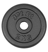 Get Fit Dischi in ghisa 1- 20 kg, 2 kg