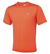 Get Fit T-Shirt running, Orange Fluo