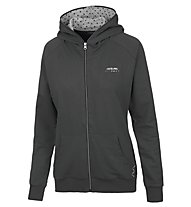 Get Fit Woman Sweater Full Zip Hoody - giacca con cappuccio donna, Black
