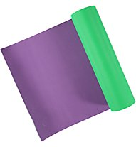 Get Fit Tappetino fitness Yoga Mat, Green/Violet