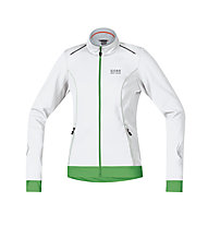 GORE BIKE WEAR Element WS SO Lady Jacket, White/Green