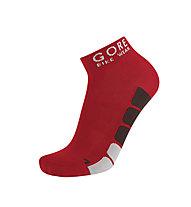 GORE BIKE WEAR Calzini bici Power Socks, Red/Black