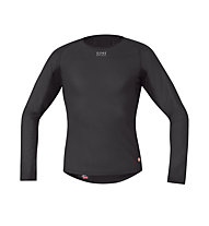 GORE BIKE WEAR Base Layer WS Thermo Shirt L/S langärmliges Fahrrad-Funktionsshirt, Black