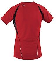 GORE RUNNING WEAR Sunlight 2.0 Shirt W's Maglia Running Donna, Red/Black