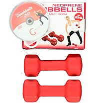 Gymstick Dumbbells Neoprene Set+DVD