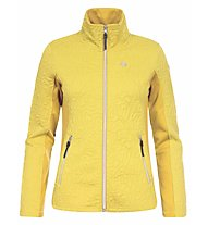 Icepeak Giacca in pile Cher, Yellow
