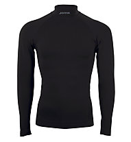 Joma Brama Shirt Langarm Junior + Männer, Black