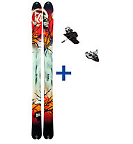 K2 Skis BackDrop ST Set: Ski+Bindung