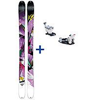 K2 Skis Remedy 92 Set: Ski+Bindung
