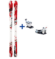 K2 Skis Set: Shuksan + Bindung
