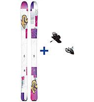 K2 Skis TalkBack 88 Set: sci+attacco