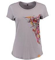 Kaikkialla Kristiina T-Shirt Donna, Platin