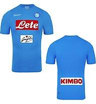 Kappa Prima Maglia Gara Uff Napoli Fußballtrikot Napoli, Light Blue