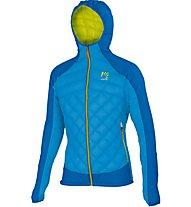 Karpos Lastei active Plus Jacket Giacca con cappuccio, Blue