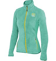 Karpos Vertice W Flecce Giacca in pile donna, Green