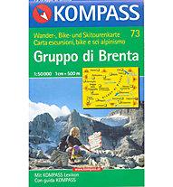 Kompass Carta N° 73 1:50.000, 1:50.000