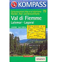 Kompass Carta N° 79 1:50.000, 1:50.000