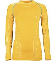 La Sportiva Neptune 2 Long Sleeve Maglia a maniche lunghe Scialpinismo, Yellow