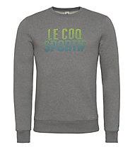 Le Coq Sportif Ligne Logo Charvin Sweatshirt, Medium Heather Grey