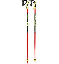 Leki Worldcup Lite SL - bastoncino sci bambino, Red/Yellow/Black