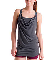 Lolë Satya Tant Top Donna, Charcoal Heather