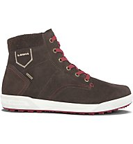 Lowa Dublin II GTX Qc Sneakers tempo libero, Brown/Red