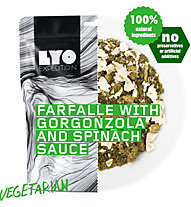 Lyo Food Farfalle with Gorgonzola and Spinach Sauce, Main meal
