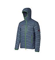 Mammut Broad Peak IS Hooded giacca piuma, Chill/Basil