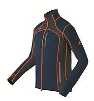 Mammut Eiswand giacca in pile, Orion/Orange