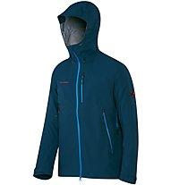 Mammut Masao Jacket Giacca Hardshell, Blue