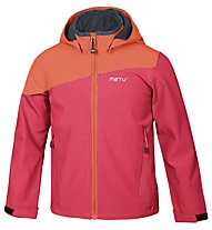Meru Inari giacca Softshell bambino, Red/Orange