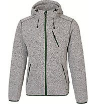 Meru Mallebo giacca con cappuccio, Grey Melange/Stargazer