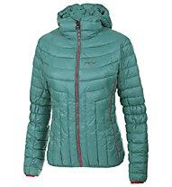 Meru New Padded giacca con cappuccio donna, Emerald