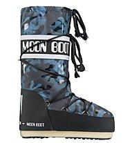 Moon Boot MB Camu, Black Blue