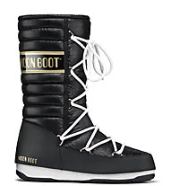 Moon Boot MB WE Quilted, Black/Gold