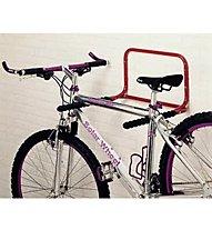Mottez Wandhalter/Fahrradhalter für zwei Räder, Black