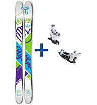 Movement Fly Smasher Set: Ski+Bindung