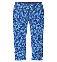 Moving Comfort Switch it up Capri Damenhose, Dark Blue/Light Blue