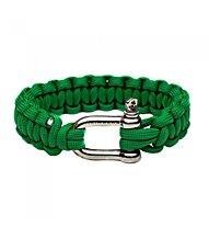 Naimakka Parachute Cord Bracelet, Kelly Green